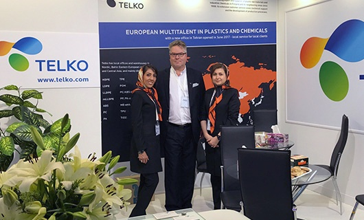 Telko started operations in the Middle East