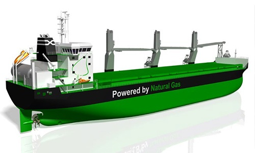 New LNG-fueled dry bulk cargo vessels launched